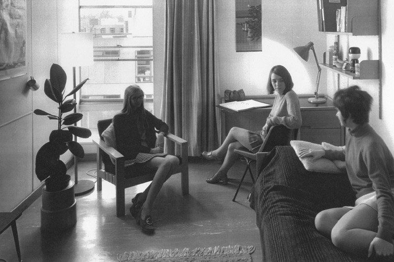 Image: Student room, 1960s