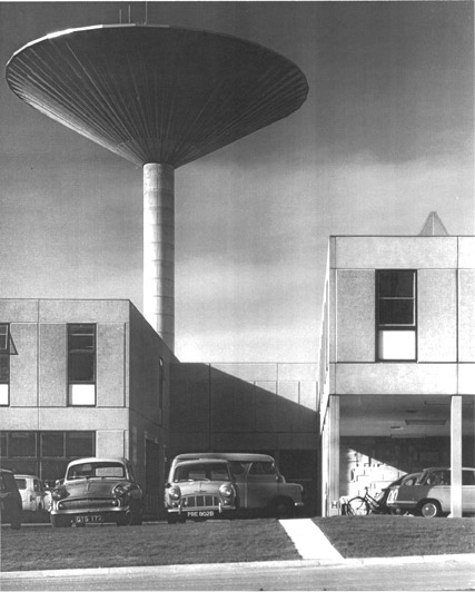 Image: Chemistry water tower, 1960s