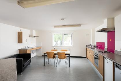 Halifax College standard ensuite shared kitchen