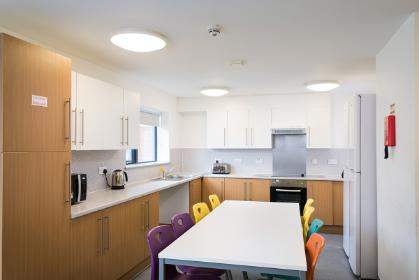Langwith College shared kitchen