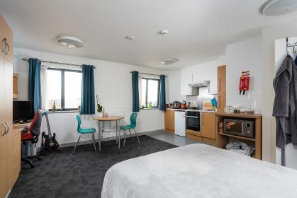 Langwith College studio flat