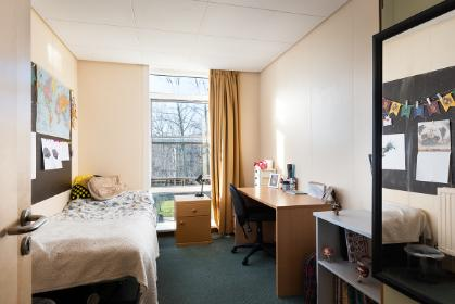 Vanbrugh College economy shared bathroom bedroom