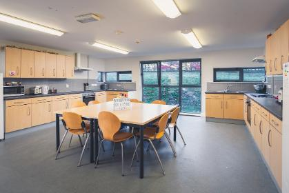 Vanbrugh College standard ensuite shared kitchen