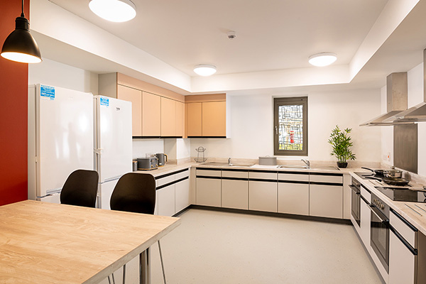 A band 3 ensuite kitchen in Anne Lister College.