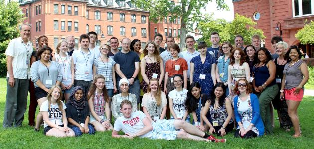 The ISC 2013 students at Mount Holyoke College in Massachusetts