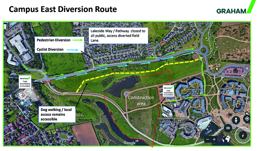 Campus East Diversion 2