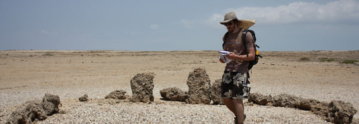 Matt in the field: Southern Red Sea Project