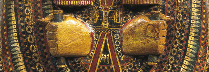 Coffin of an Egyptian priest