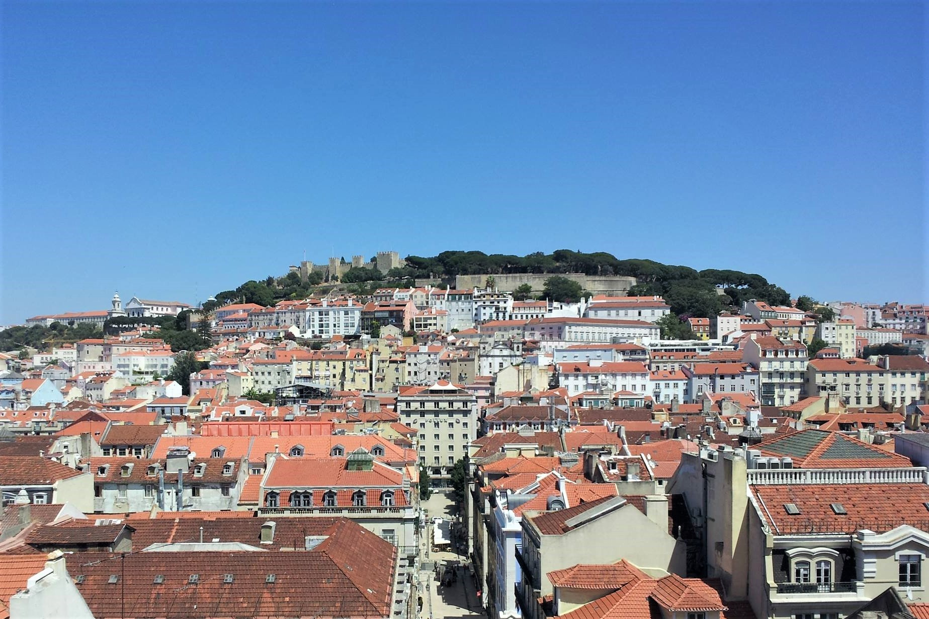 The modern-day city of Lisbon
