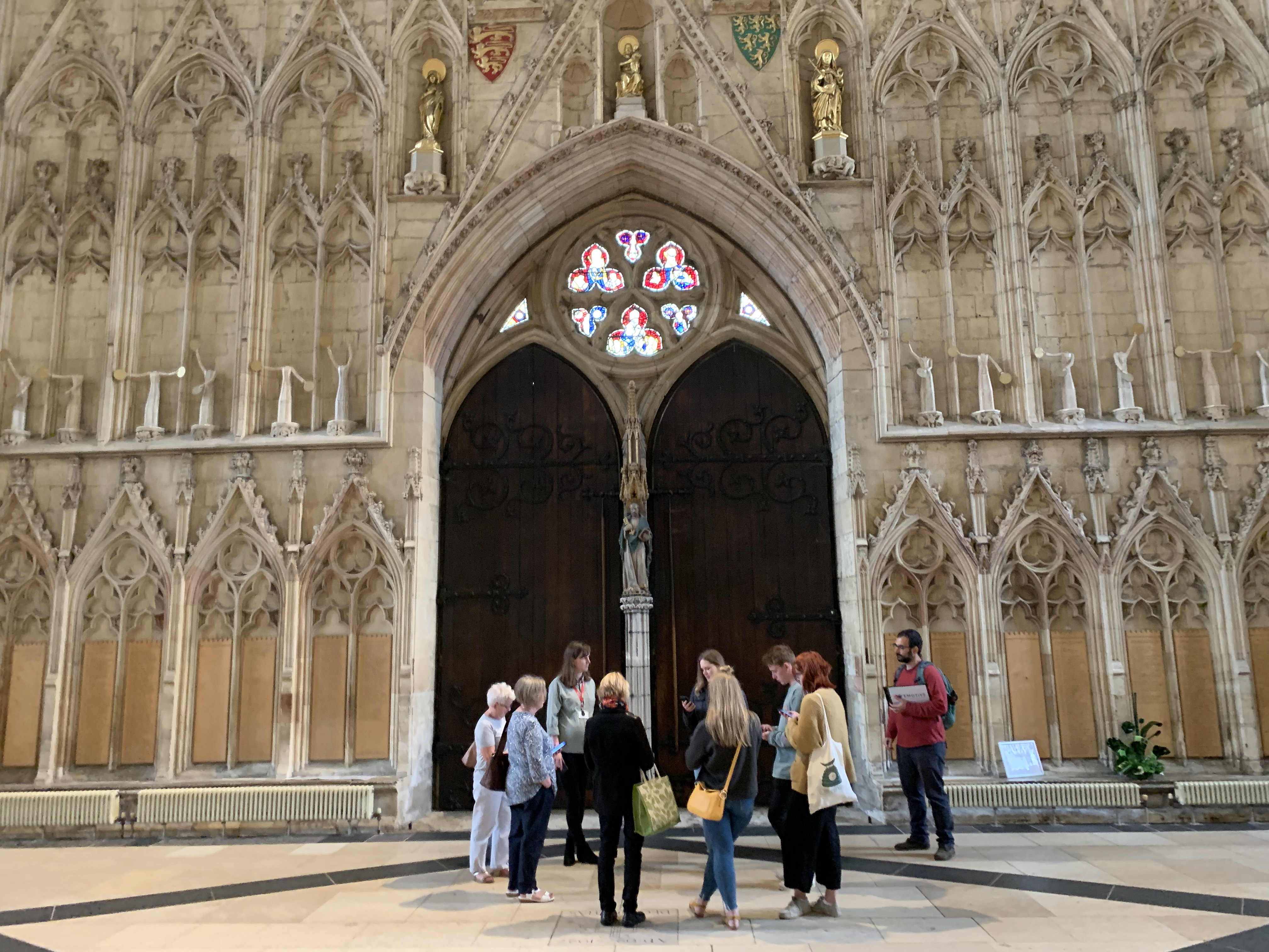 EMOTIVE visitor-led tours at York Minster