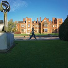 Heslington Hall from the quite place