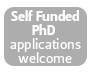Self funded PhD applications welcome