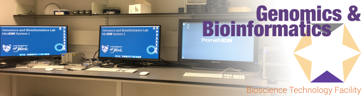 Header image for genomics and bioinformatics lab