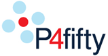 P4fifty logo