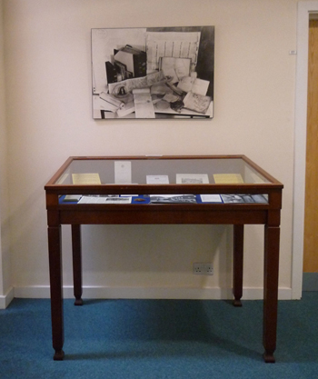 We used one of our original showcases to tell the story of our opening in May 1953, not long before the Coronation