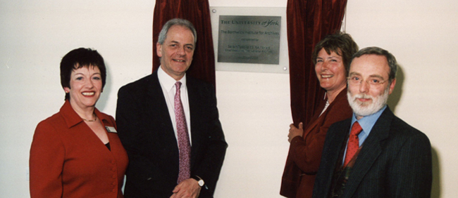 The opening of the new Borthwick in 2005