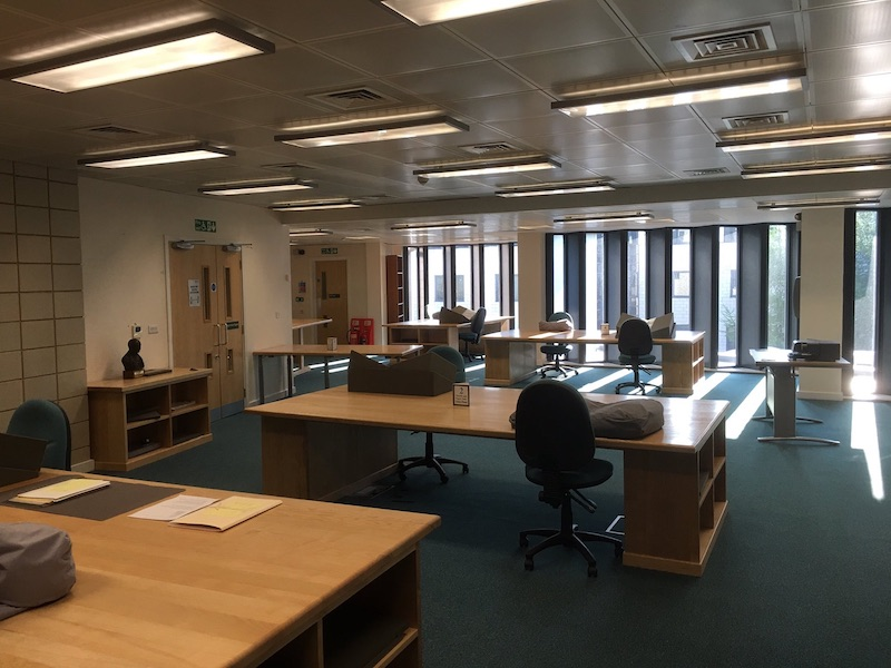 Searchroom ready for reopening