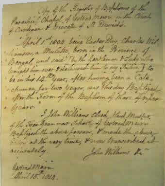 John Williams letter (small)