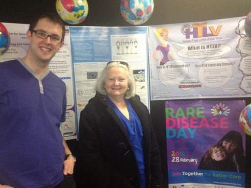 Rare Diseases Day 2014 event at York Hospital