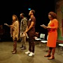 """Women on the Frontline: Voice of Dissent"" performance at York Theatre Royal in March 2014."