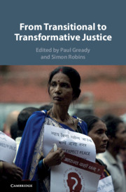 From Transitional to Transformative Justice - book cover