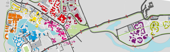 Wayfinding and signage - Investing in our campus, The University of York