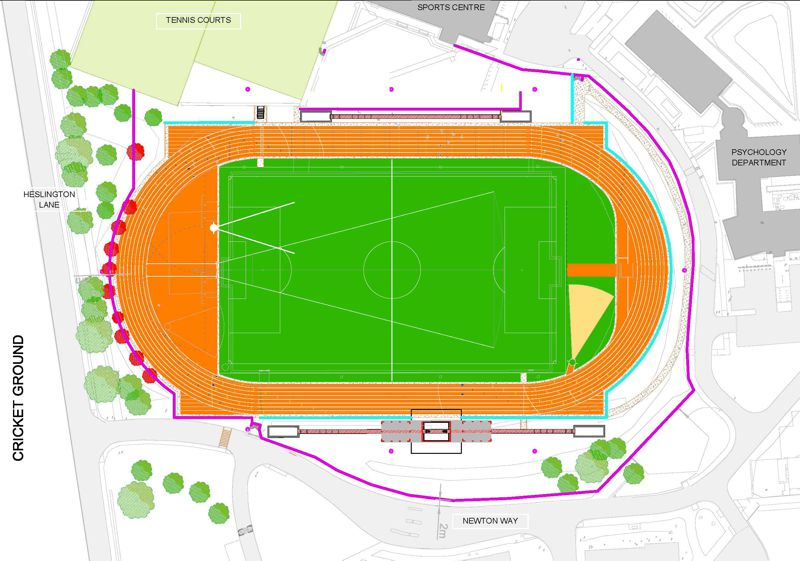 Athletics Track Investing In Our Campus The University