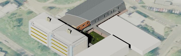 artist impression of new C block for chemistry