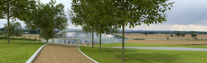 Artist impression of Sports Village 3