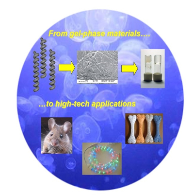 From gel-phase materials...to high-tech applications