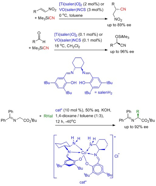 Asymmetric catalysis using sustainable metals structures