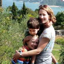 Photo of Lucy Carpenter and family