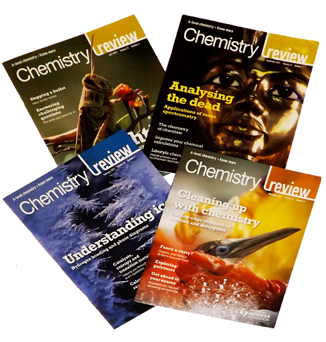 Image: Chemistry Reviews © Philip Allan Publishers Ltd