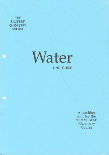 Image: Water book