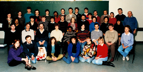 Image: Structural Biology Group 1991
