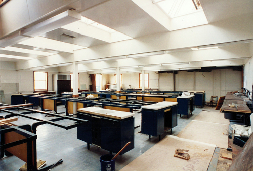 Image: Refurbished teaching labs
