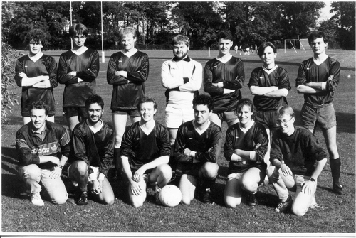 Image: Football team 1988/89