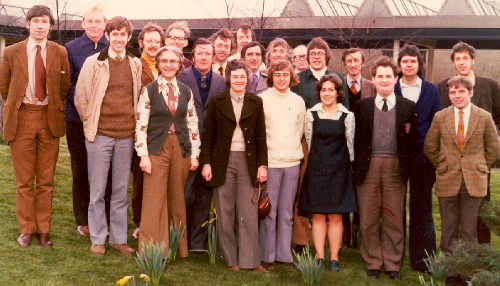 Image: Early staff photo