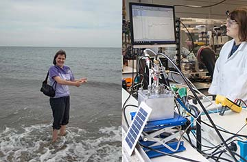 PhD student Katie Lamb – from seawater to an electrochemical carbon capture cell