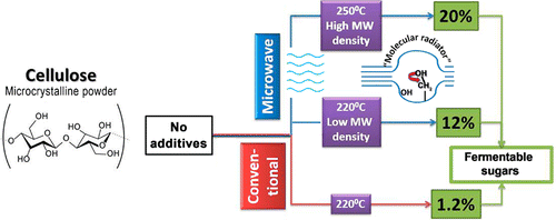 Direct Microwave-Assisted Hydrothermal Depolymerisation of Cellulose