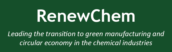RenewChem: Leading the transition to green manufacturing and circular economy in the chemical industries