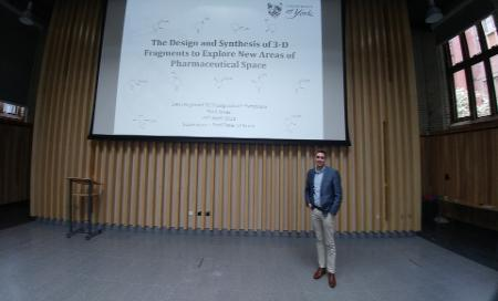 Paul at the 29th Regional Postgraduate Symposia on Novel Organic Chemistry