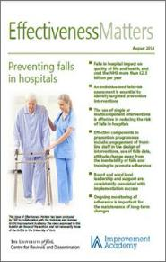 prevention of falls in the elderly a review pdf