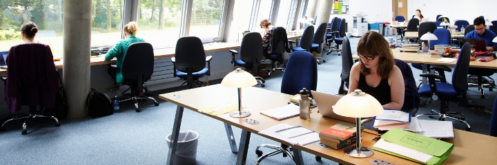 Postgraduate study area, Humanities Research Centre