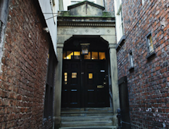 Photo of entrance to York Medical Society