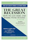 The Great Recession: How We Got Here and Where We're Headed (book cover)