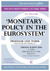 Monetary policy in the Eurosystem (Book cover)