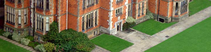 Education: Heslington Hall from the air