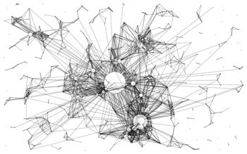 Connected nodes 02. Credit Fabian Moron Zirfas/Flickr (CC BY 2.0)