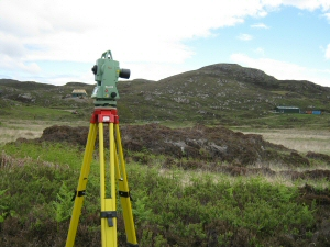 Investigations at Point of Sleat, Skye, integrating environmental reconstruction and archaeology (photo R. James)